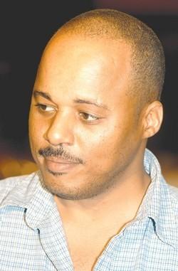 Bahamian blogger Dennis Dames