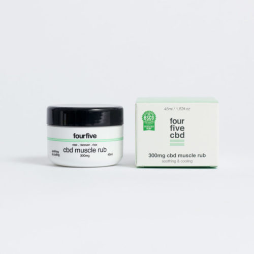 CBD Muscle Rub by Four Five CBD